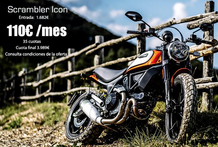 Oferta y precio Ducati Scrambler Icon