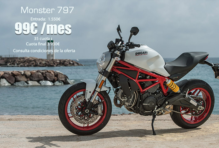 Ducati Monster 797 oferta y precio
