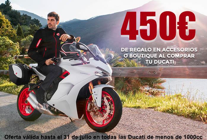 Oferta regalo en accesorios Ducati
