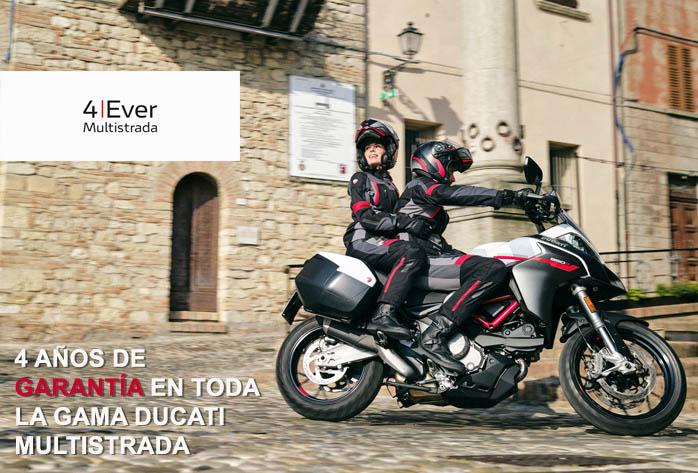 Nueva Ducati Multistrada GP White. Garantía 4 años
